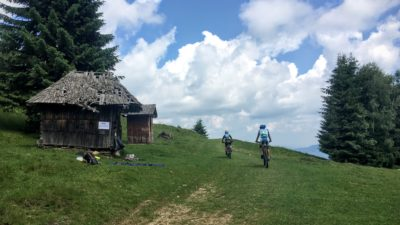 MTB tour in the Carpathian Mountains