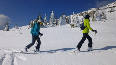 A snowshoe tour in the Transylvanian winterland